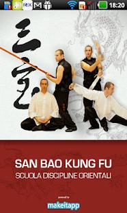 San Bao Kung Fu