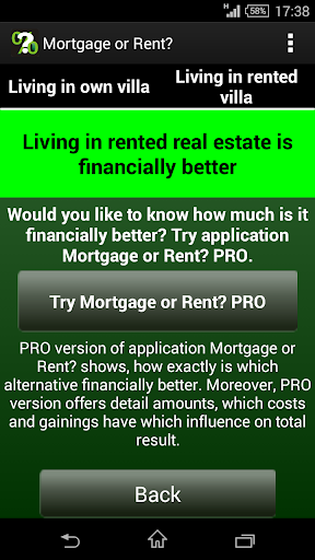 【免費財經App】Mortgage or Rent?-APP點子