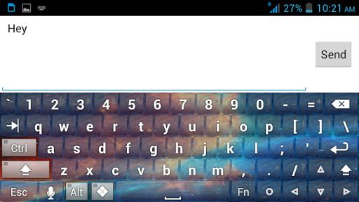 玩個人化App|银河主题键盘免費|APP試玩