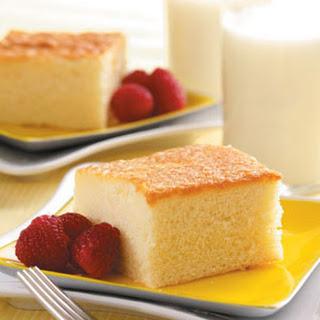 Hot Milk Cake.