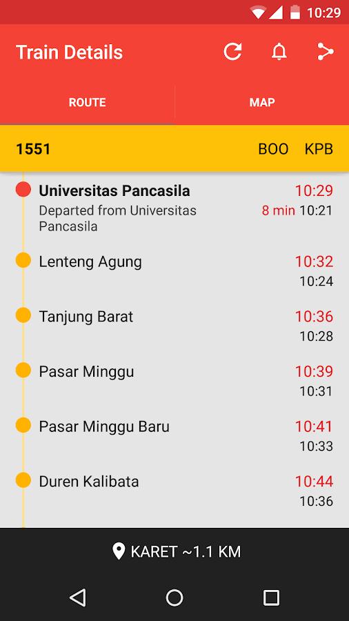 Info KRL - screenshot