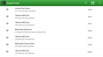 Screenshot of Hotspot Finder