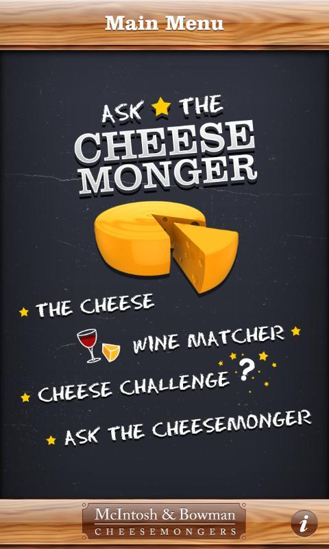 Ask The Cheesemonger- screenshot
