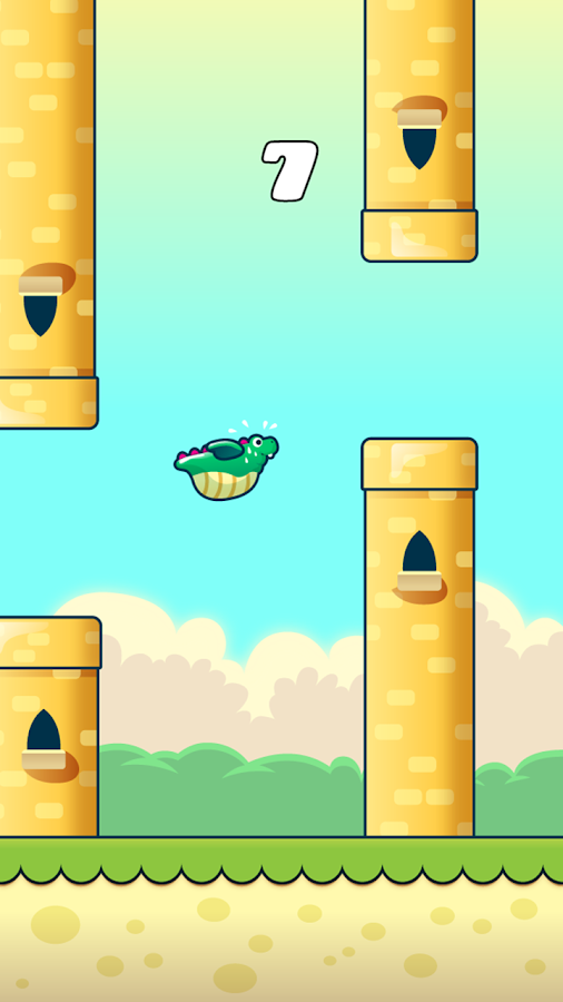 Puffy Dragon - screenshot