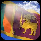 3D Sri Lanka Flag icon