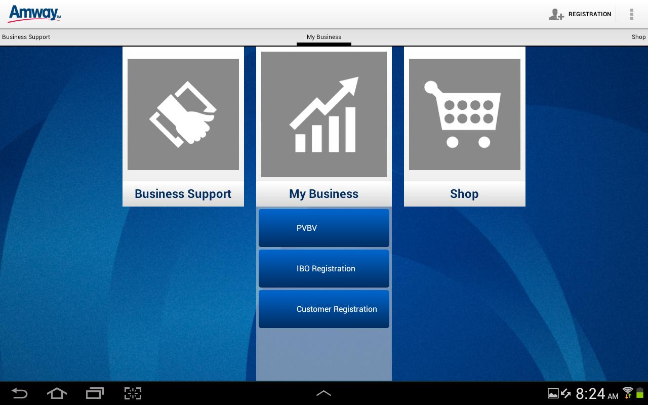 Amway™ Business App - screenshot
