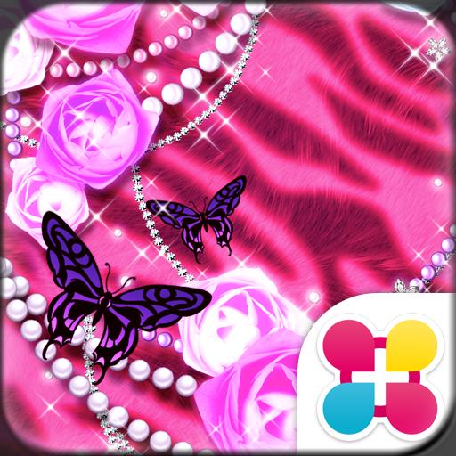 嬌豔玫瑰 for[+]HOME 個人化 App LOGO-APP試玩