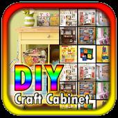DIY Craft Cabinet