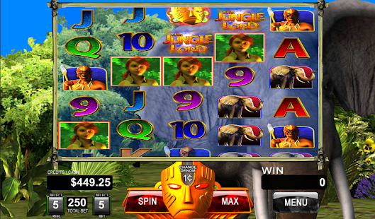 Jungle Lord Tanzania Slot Game- screenshot thumbnail