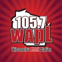 105.7 WAPL icon