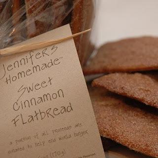 Sweet Cinnamon Flatbread.