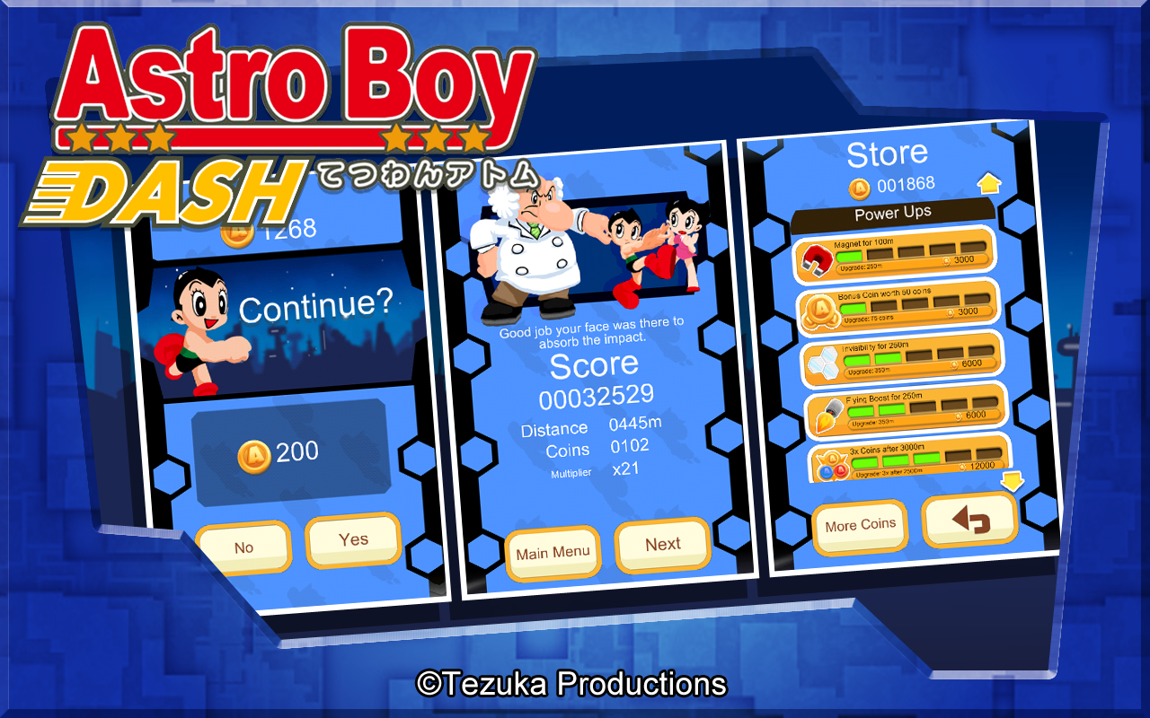 Astro Boy Dash - screenshot