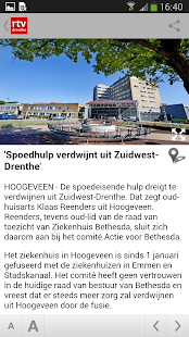 RTV Drenthe- screenshot thumbnail