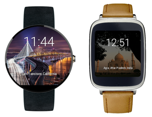 Nearby Photos Watch Face