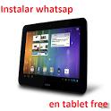Whatsap Tablet Free icon