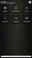 Screenshot of Leather White CM11/AOKP Theme