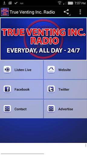 True Venting Inc. Radio  screenshots 1