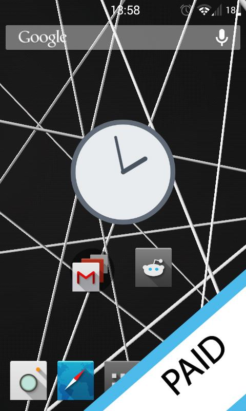 Strings 3D Live Wallpaper Lite - screenshot