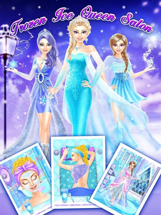 Frozen Ice Queen Salon - Aplicaciones Android en Google Play