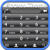 RocketDial UKR Black Theme