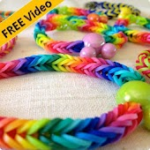 Fishtail Rainbow Loom Bracelet
