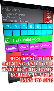 WordWarX Anagram Word Game- screenshot thumbnail