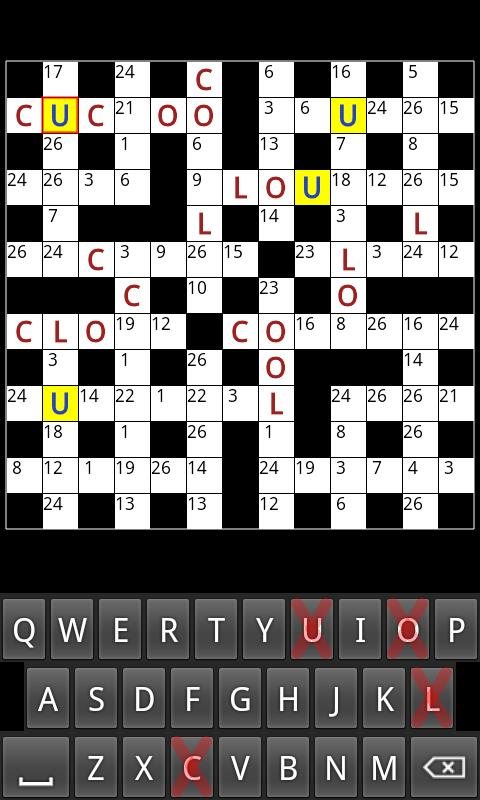 Codewords Lite - screenshot