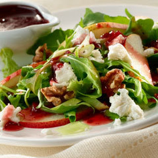 Pear & Goat Cheese Salad.