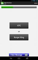 Screenshot of Decision Buddy Decision Maker