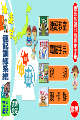 油漆式速記法-觀光旅遊日語專業字彙