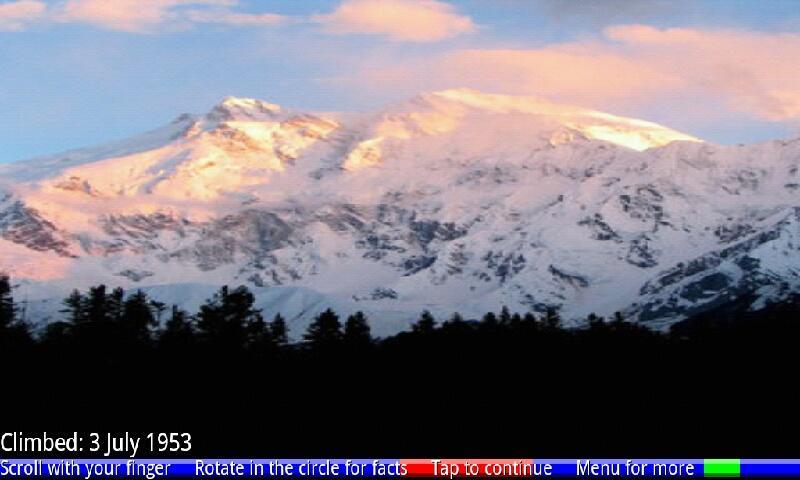 Top 10 Highest Mountains 1 FRE- screenshot