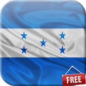 Flag of Honduras 3D Wallpaper