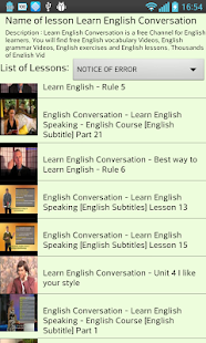 Learn English Online by Video - screenshot thumbnail