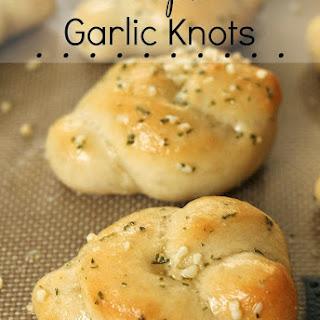 Simple Garlic Knots.