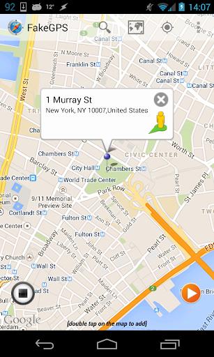 Fake GPS Go Location Spoofer  screenshots 9