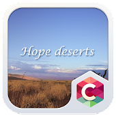 HOPE DESERT C LAUNCHER THEME