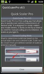 Hobby Model Scaler screenshot