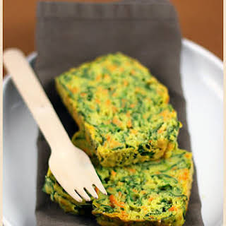Sweet Potato and Spinach Cake.