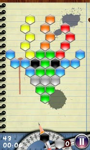 Hexagon - shoot bubbles- screenshot thumbnail
