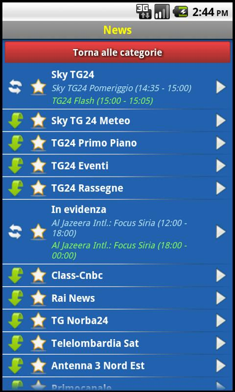 EasySky Guida TV- screenshot