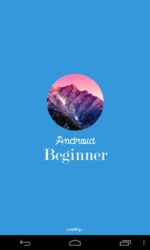 Android Beginner