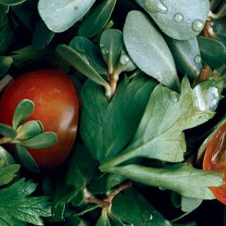 Purslane and Parsley Salad