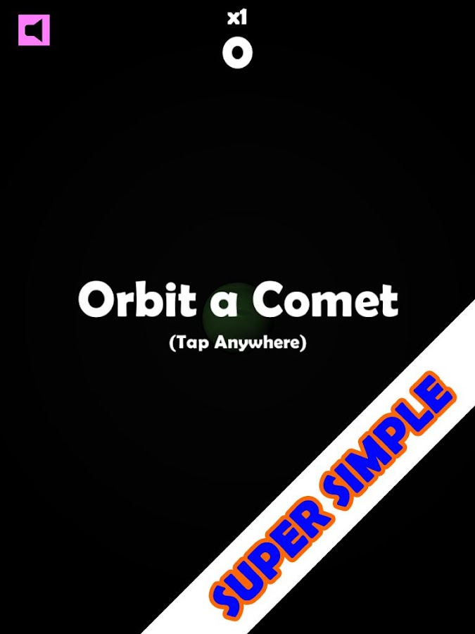 Comet Orbit- screenshot