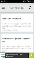 Screenshot of Milton Keynes Local News