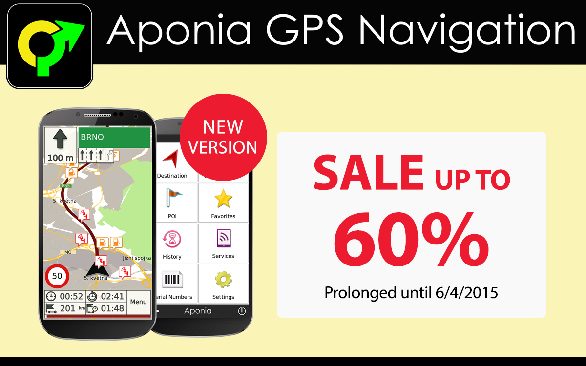 GPS Navigation & Map by Aponia - screenshot