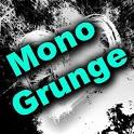 GO SMS Theme - Mono Grunge icon