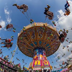 by Pascal Hubert - City,  Street & Park  Amusement Parks ( park, people, city,  )