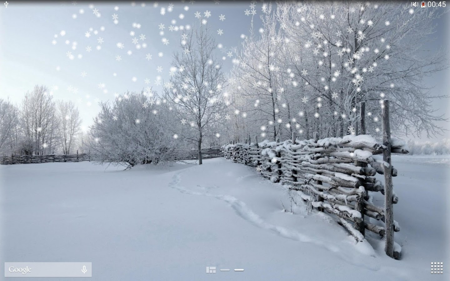 winter snow live wallpaper pro android apps on google play