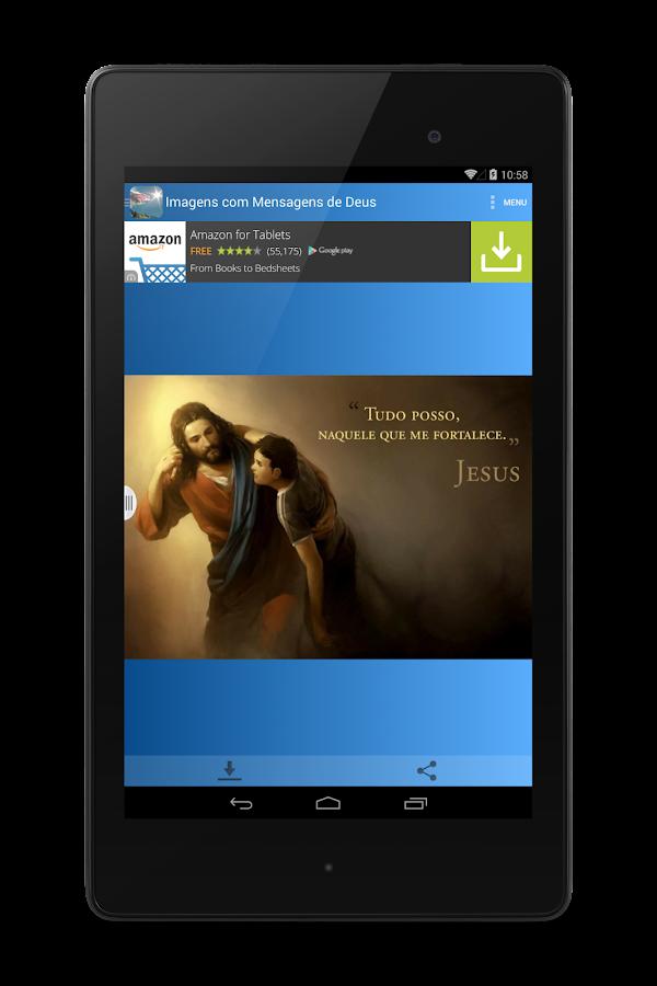 Screenshots of Imagens com Mensagens de Deus for iPhone