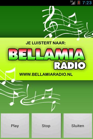 Bellamiaradio.nl- screenshot